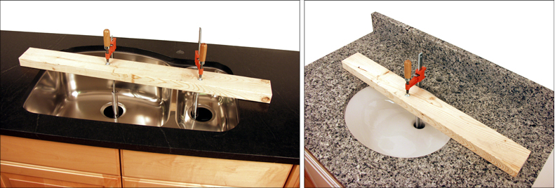 Hanging An Undermount Sink Is Often An Uncomfortable And Stressful Juggling  Act.